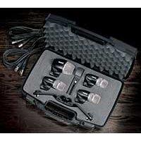 Shure PGDMK4-XLR Drum Microphone Kit, 4 piece