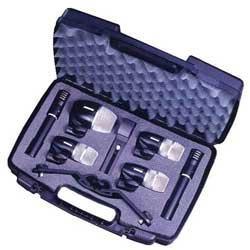 Shure PGDMK6-XLR Drum Microphone Kit, 6 piece
