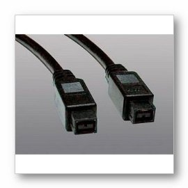 Tripp Lite F015-010 IEEE 1394b Firewire 800 Gold Hi-speed Cable, 9pin/9pin - 10ft