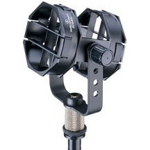 Audio-Technica AT8415 Microphone Shock Mount Compatible with 3/8 Inch 16 Hole, 360 Rotation
