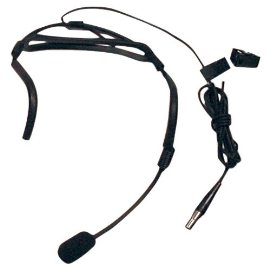 Electrovoice HM 2 Headworn Microphone Cardioid Pickup Pattern Ensures Good Gain Before Feedback