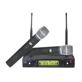 Hisonic 48-Channel Dual UHF Wireless Microphone, HSU-482HT