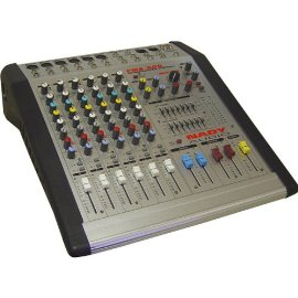 Nady 6-CHANNEL, 4-BUS Powered Console Mixer