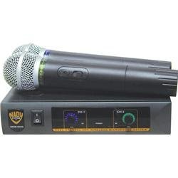 Nady DKW-DUO Dual Channel VHF Hand-Held Microphone System, Channel P/R