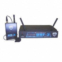 NADY UHF-3LT470.55 Uhf Diversity Receiver with UH-3 Lavalier Bodypack Transmitter