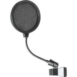 On-Stage Stands Microphone Pop Filter, 4 Inches