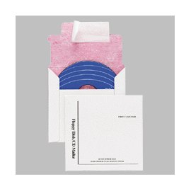 Quality Park E7261 Quality Park Recycled Multimedia/CD Mailers, Tyvek-Lined, 5x5, 25/Box