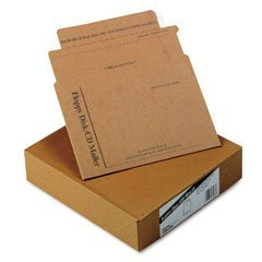 Quality Park E7268 Quality Park Recycled Economy Multimedia/CD Mailers, 6x8-1/2, 25/Box