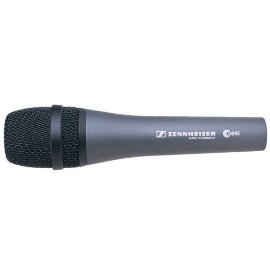 Sennheiser e845 Extended High Frequency Response Supercardioid Microphone