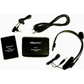 Single Channel Wireless Microphone System with lapel & headset, Hisonic HS707