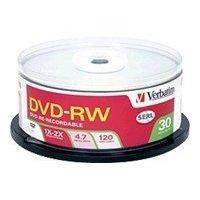 Verbatim 95179 4.7GB 2X Branded DVD-RW