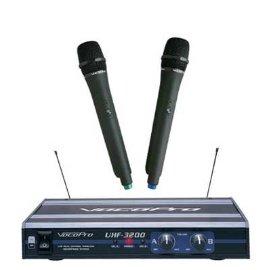 VocoPro UHF-3200 Dual Wireless Mic System