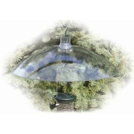 16in. Clear Plastic Squirrel Baffle