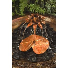 Ancient Graffiti Copper Dripper/Fountain Lotus