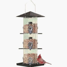 Birdscapes® 111MA Deluxe Grandview Bird Feeder, 8 lb capacity