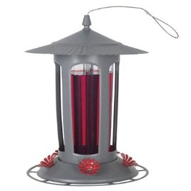 Birdscapes® 223 Lightpost Top Fill Hummingbird Feeder, 24 oz capacity