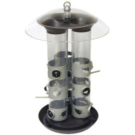 Birdscapes® 329 Triple Tube Feeder, 11 lb capacity