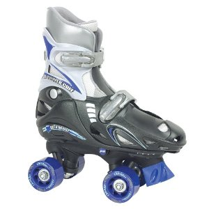 Chicago Boys Adjustable Quad Skate (Small) - Black