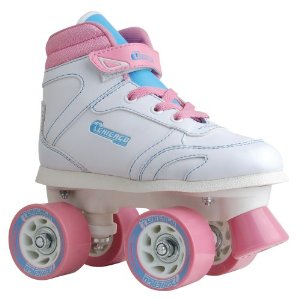 Chicago Girls Sidewalk Skate (Size 1) - White