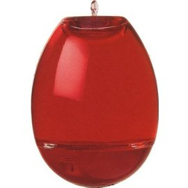 Garden Jewels® 447-12 10-Ounce Glass Hummingbird Feeder