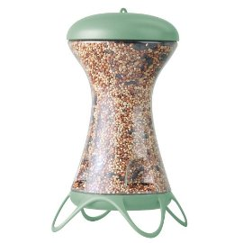 Garden Song® 100-12 First Flight Bird Feeder - GREEN