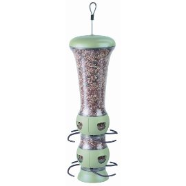 Garden Song® 102-4 Select-A-Bird Tube Feeder - GREEN