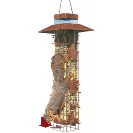 Perky Pet 336 Squirrel-Be-Gone Feeder, 3.4 lb capacity