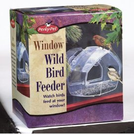 Perky Pet 348 Wild Bird Window Feeder