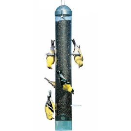 Perky Pet 398 Patented Deluxe Upside Down Thistle Feeder, 2 lb capacity