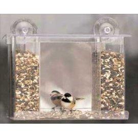 Songbird One Way Mirror Window Bird Feeder