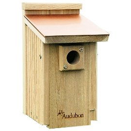 Woodlink NACOPBB Audubon Coppertop Cedar Bluebird House
