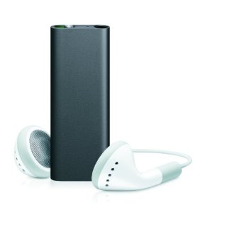 Apple iPod shuffle Third Gen 4GB (Black) MC164LL/A