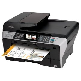 Brother MFC-6490CW Professional Series Color Inkjet All-in-One Printer with Wireless Networking