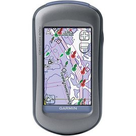 Garmin Oregon 400c Marine GPS with BlueChart g2 Coastal Charts (010-00697-03)