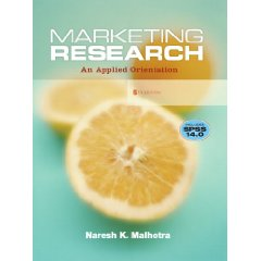 Marketing Research: An Applied Orientation and SPSS 14.0 Student CD (5th Edition)