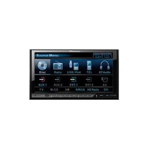 Pioneer AVH-P4100DVD In-Dash 2-DIN DVD Multimedia AV Receiver with  7 Touchscreen Display