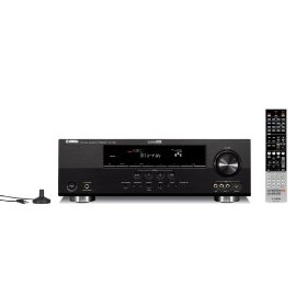 Yamaha RX-V465BL 525 Watt 5-Channel Home Theater Receiver