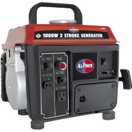 All Power America APG3004 1,000 Watt 2.4 HP 2-Cycle Gas Powered Portable Generator (Non-CARB Compliant)