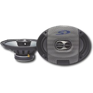 Alpine Type-S SPS-609 Car Speakers (6x9, 3-way, coaxial)
