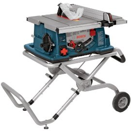 Bosch 4100-09 10 Worksite Table Saw with Gravity-Rise Wheeled Stand