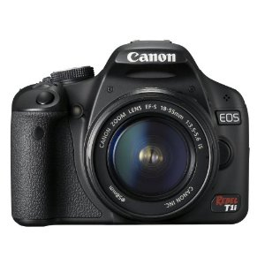 Canon EOS Rebel T1i 500D 15.1MP Digital SLR Camera w/ EF-S 18-55mm f/3.5-5.6 IS Lens