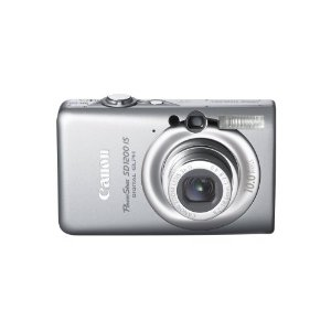 Canon PowerShot SD1200 IS Digital Elph 10MP Camera with 3x IS Zoom (Silver)