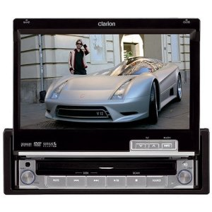 Clarion VRX485VD 7 Touchscreen 1-Din Multimedia Station