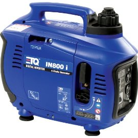 ETQ IN800I 800 Watt 4-Cycle OHV Gas-Powered Portable Digital Inverter Generator (CARB Compliant)