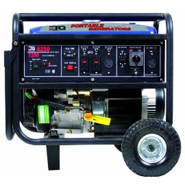 ETQ TG72K12 8,250 Watt 13 HP 420cc 4-Cycle OHV Gas Powered Portable Generator with Electric Start (Non-CARB Compliant)
