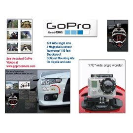 GoPro Motorsports HERO Wide Angle Video Camera (GMHW5170)