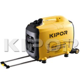 Kipor Sinemaster KGE3000THI Quiet Portable Inverter Generator with Handlebar