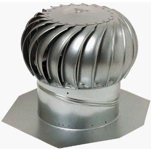 Lomanco, Inc. GT-12 12-Inch Galvanized Turbine