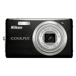 Nikon Coolpix S560 10MP Digital Camera with 5x Optical VR Zoom (Graphite Black)