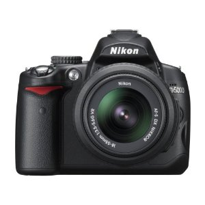 Nikon D5000 12.3MP Digital SLR Camera w/ Nikkor DX 18-55mm f/3.5-5.6G VR Lens